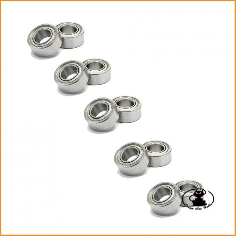 Ball bearing  5x10x4 mm ZZ - 10 pieces