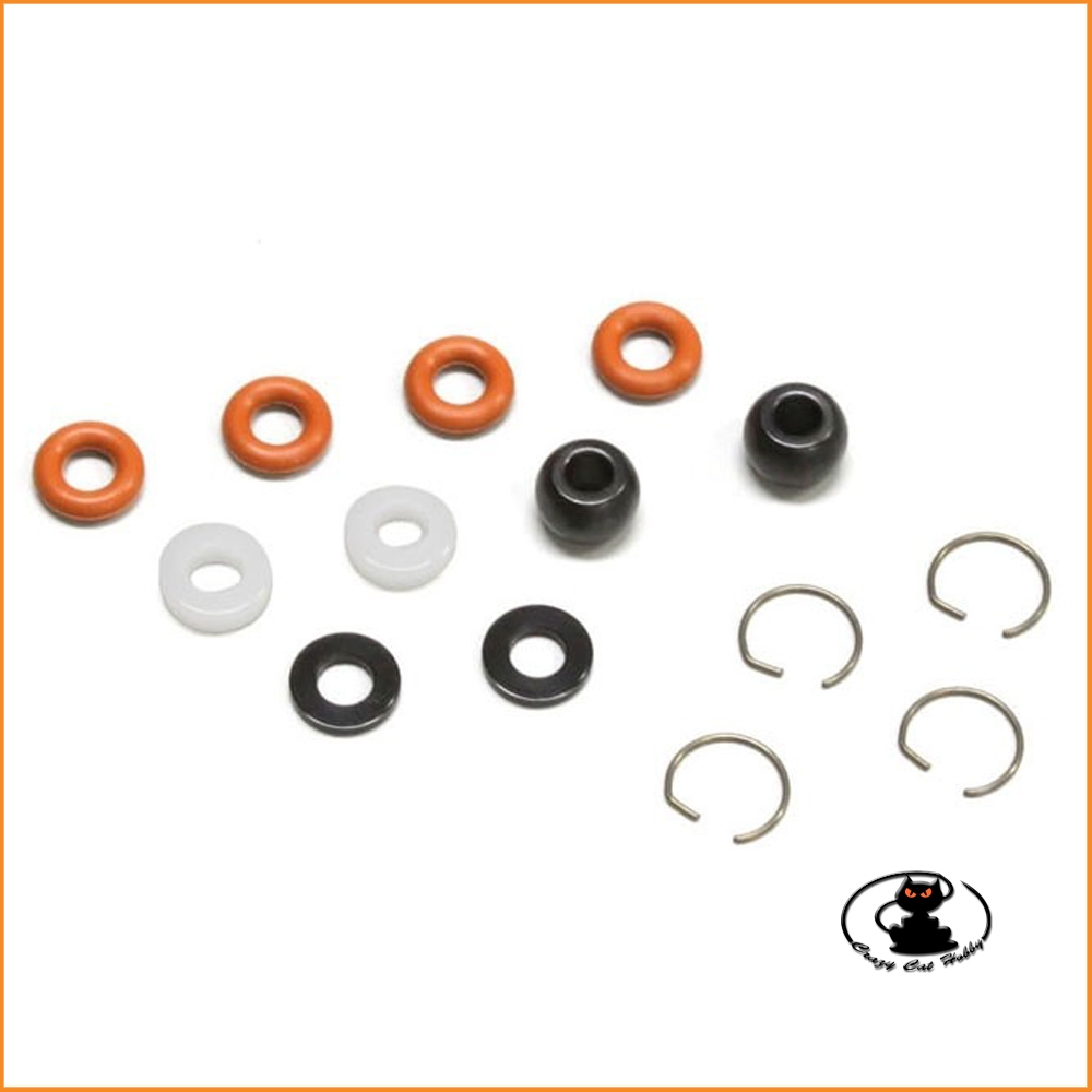 Up grade Kanai II O ring set - for Kyosho Mp10 - MP9 - GT2  ( IFW140-05 )