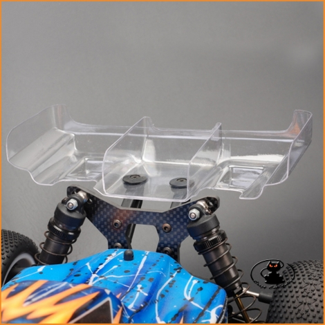 Transparent universal aileron for 1:10 RC buggy cars