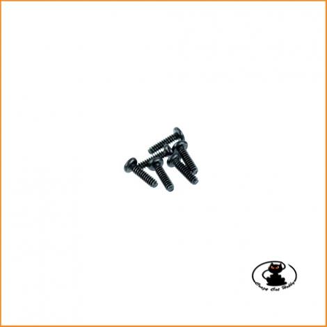 Viti autofilettanti per plastica 3x11 mm - 6 pezzi - Absima 1230365
