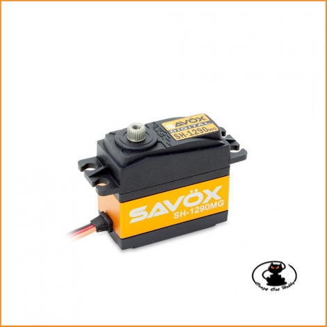SH-1290MG Savox super-speed metal-gear digital coreless servo - specific for use with gyroscopes