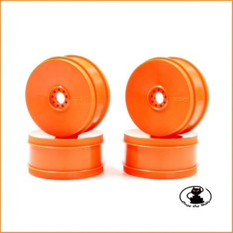 Orange Dish Wheel Kyosho Inferno Mp9 1:8 buggy