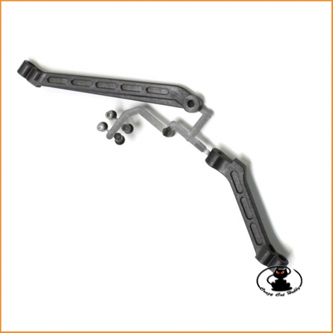 Chassis brace set Kyosho MP9 TKI3/4 - IF433