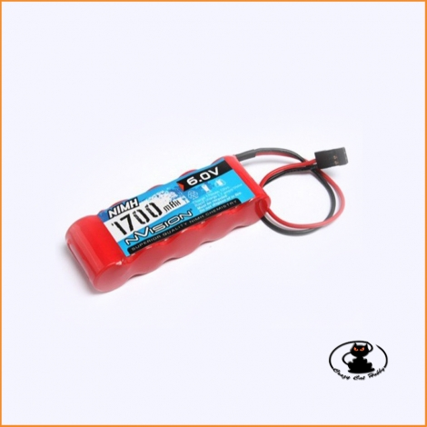 Nvision nimh RX battery 6 Volt 1700Mah ( 5 elements flat )