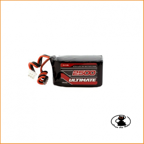 LIFE RX battery with UNI connector - 6.6 V - 2500 mAh - HUMP - UR4454