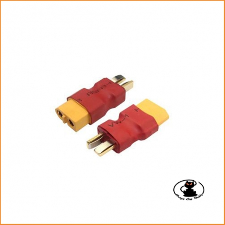 Adapter compatible Deans male - female XT60 - 356916 Fullpower