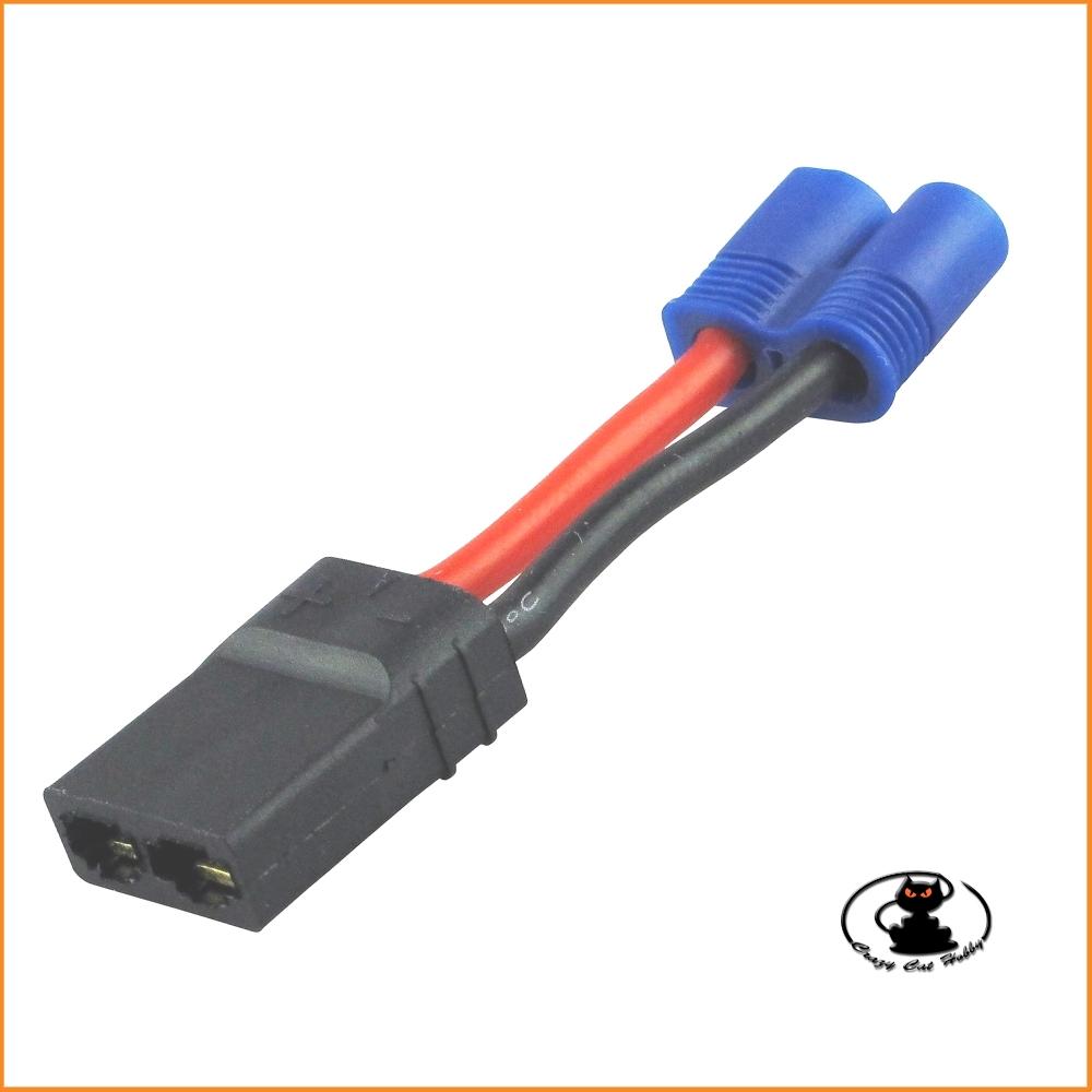 Adapter traxxas female - deans male - 600120 Yuki model