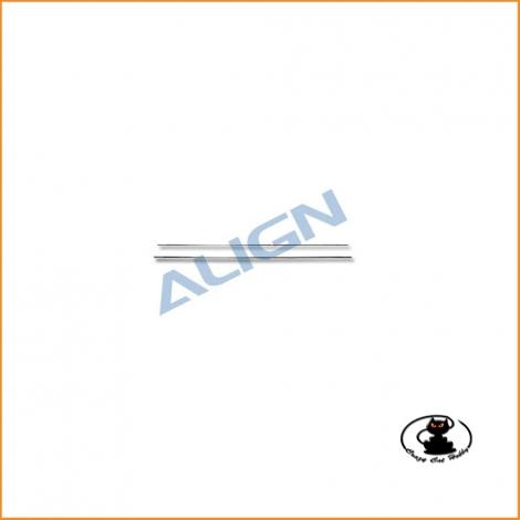 H60108T Flybar rod - 440 mm - Align T Rex 600 - 550