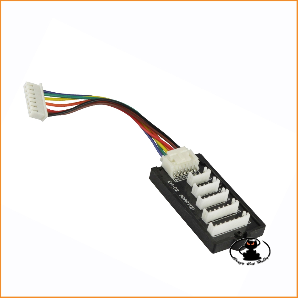 Balancer board with JST EH 2-6S connectors - 703001 - Yuki Model