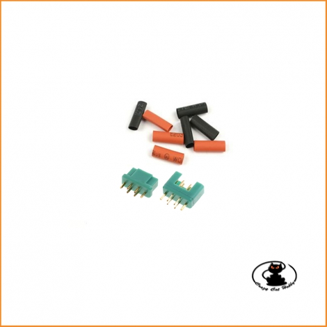MPX Connector pair with heat shrink - Maxpro MAXCP22