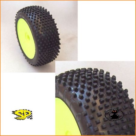 SP Racing Tires Predator XXS reactive soft insert - for off road cars 1:8 scale- SP08400-MRM