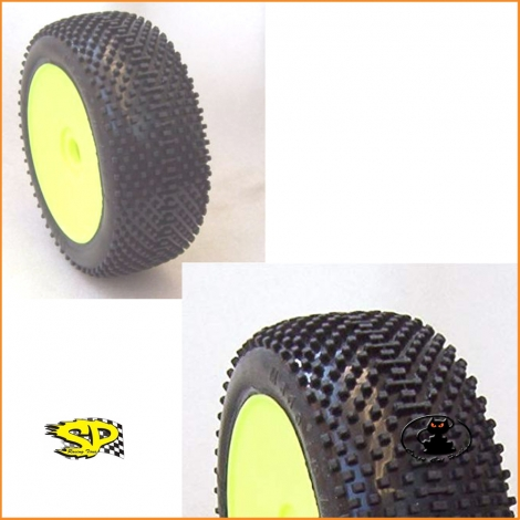 Gomme SP Racing Dominator XXS inserto reactive soft per off road scala 1:8 - SP08500-MRM