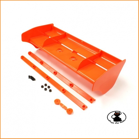 IF491KO Alettone arancione fluo Kyosho MP9 MP10 - IF491KO