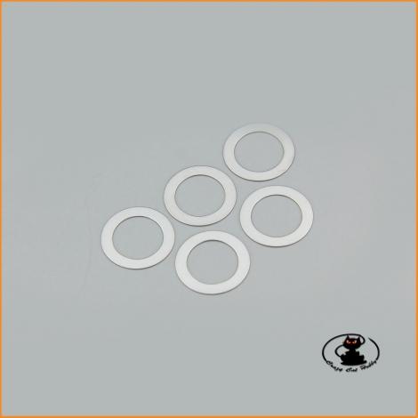 96773 Shim 8x12x0,2 - 5 pieces - Kyosho