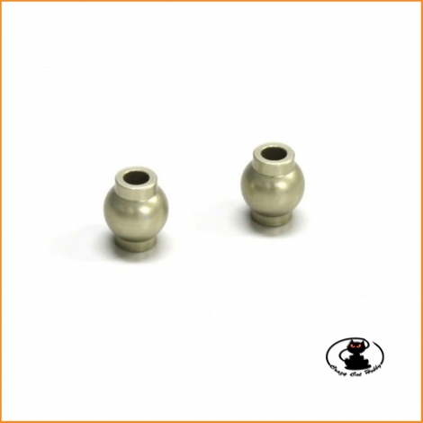 IF465H 7.8mm Flanged Hard Ball 2pcs Kyosho MP9-MP10 (IF55)