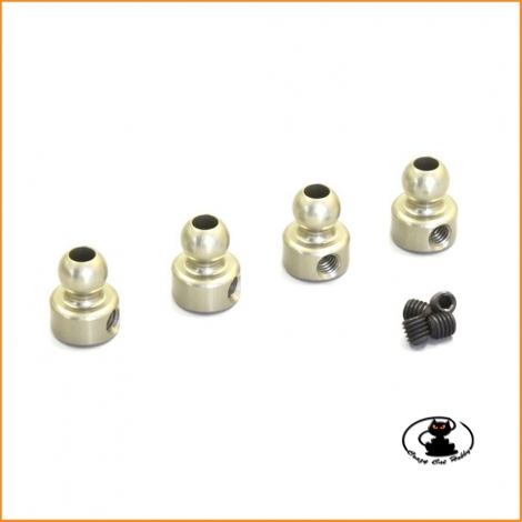 92653H Hard ball joint 5.8 mm ( 4 pieces ) Kyosho