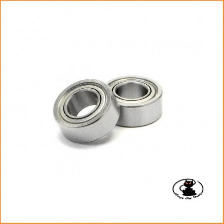 cuscinetti a sfera 5x10x4 mm per impiego generale o per campane frizione originali Kyosho Made in Japan alta qualità