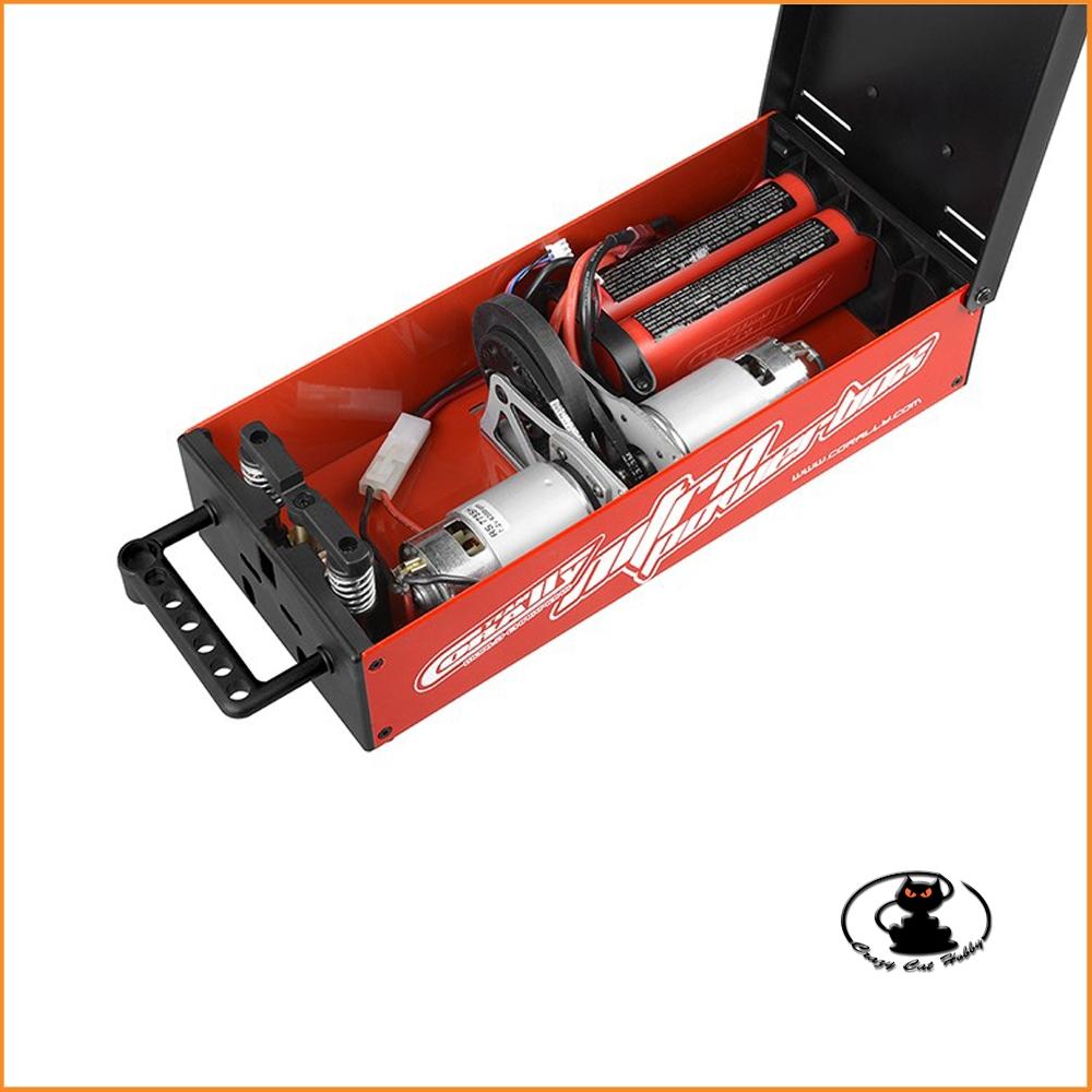 Team Corally - Nitro Powerbox - 2x 775 Motors - powerfull starter for 1/8 cars