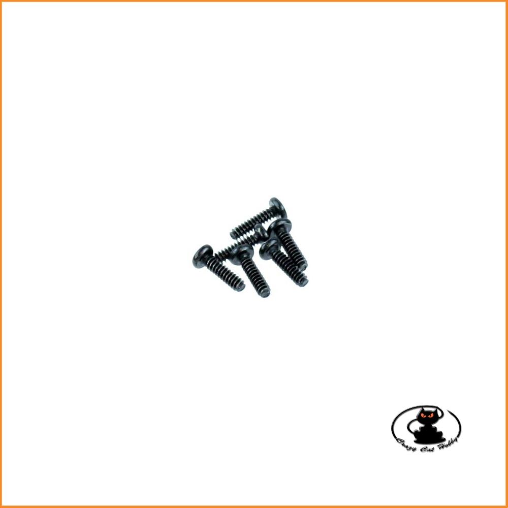 3x12 mm Viti autofilettanti per plastica 10 pezzi