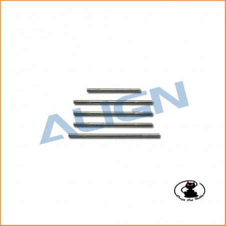 H45106 Stainless steel linkage rod T Rex 450 Sport Align