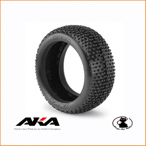 AKA TIRES Buggy 1:8 I-BEAM SOFT LONG WEAR BULK - AKA 14001XX/T