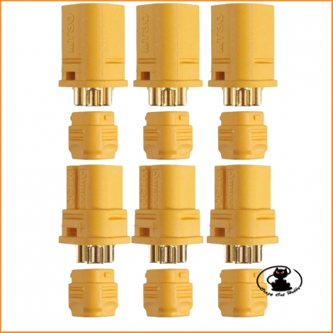 3-pin MT30 connectors (pairs) AM-634-3P