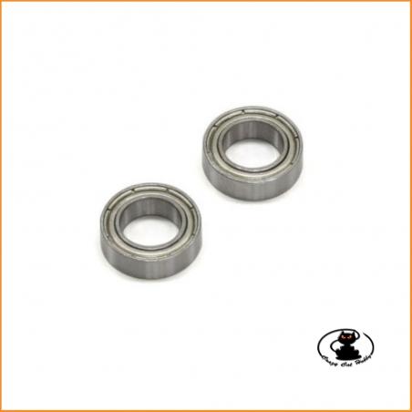 BRG022 Cuscinetti 6x10x3 mm made in Japan alta qualità Kyosho - 2 pezzi - BRG022