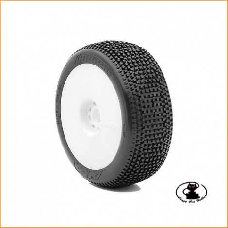 Gomme AKA 1:8 IMPACT Super Soft long wear incollate ( 1 coppia ) AKA14007QRW