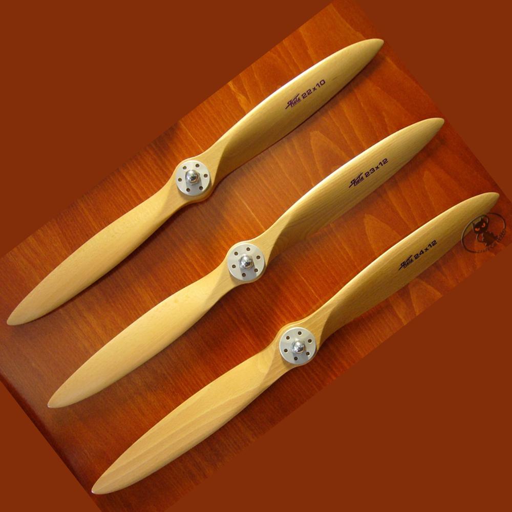11200821 wooden propeller 20x8 2 blades Fiala brand