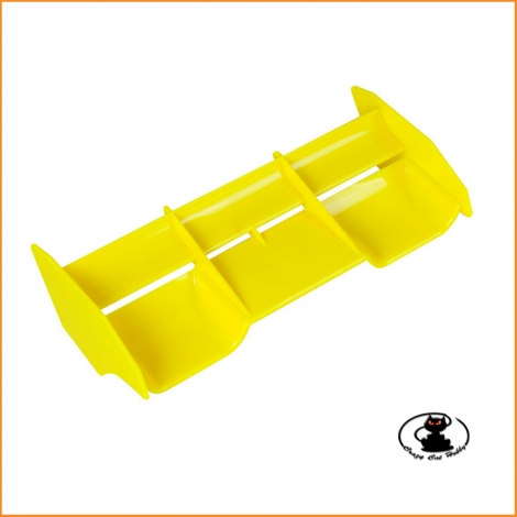 Alettone universale buggy rc 1:8 Air Down force colore giallo SP Racing