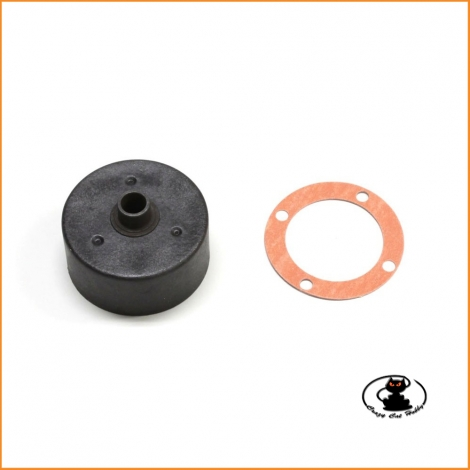 IF404B center differential case set Kyosho Inferno MP9/MP9e/MP10