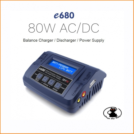 e680 Sky RC battery charger - Ac/Dc 1/6S lipo -SK100149