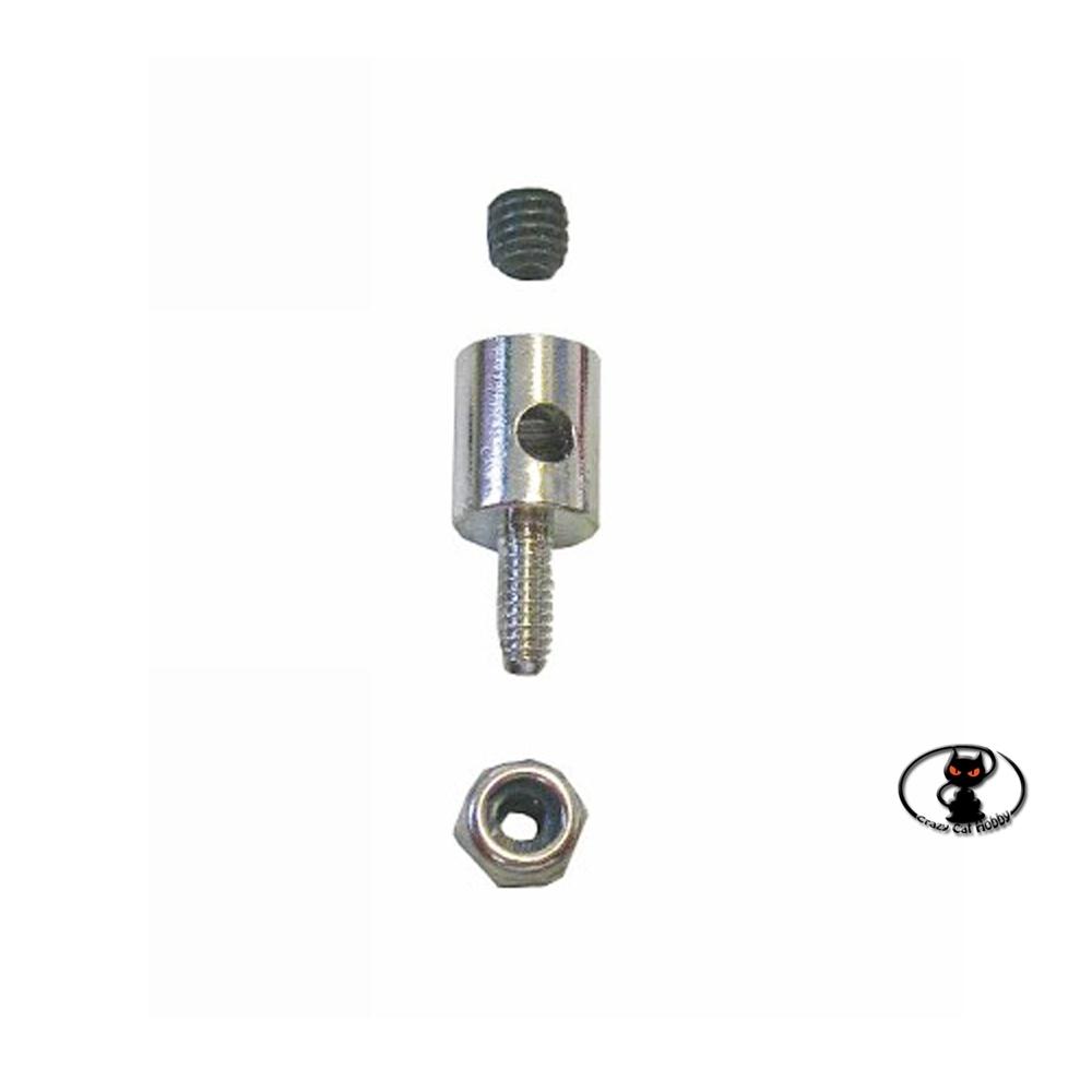 GRA1177-2 Morsetto attacco fermabarre per barre fino ad 2 mm