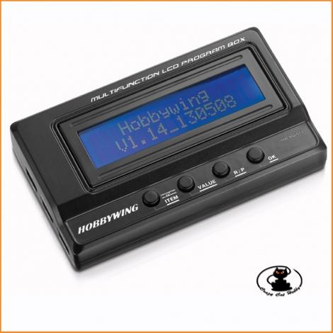 Programm Box LCD Multifunction - HW30502000 Hobbywing - 447878