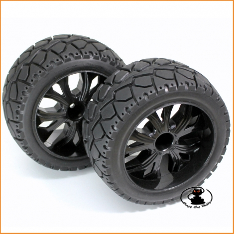Monster truck - truggy 1:10 on-road wheels - Absima 2500014