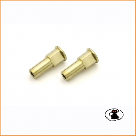 IFW611-0 Brass Front Hab Carrier Bush 0゚ Kyosho Inferno MP10  MP10