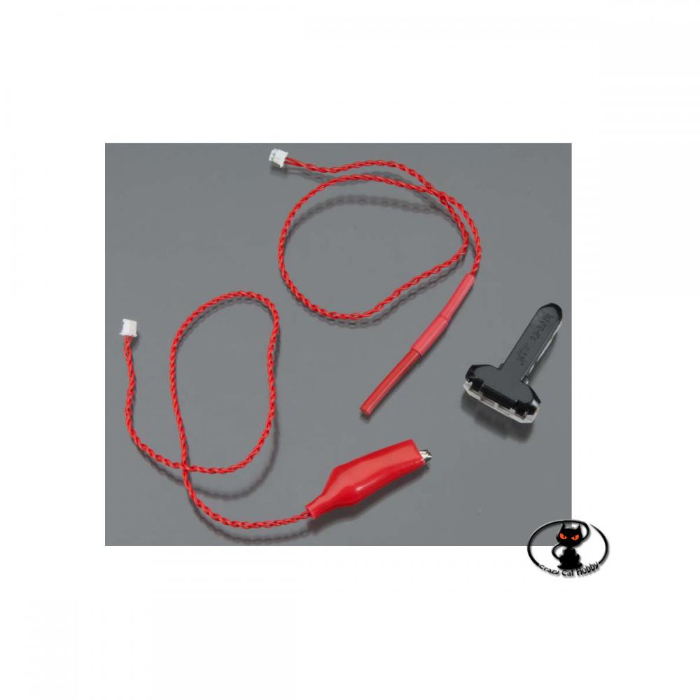 55851 L' HITEC HTS-VOLT è un sensore compatibile con la telemetria Hitec capace di rilevare tensioni fino a 100Volt