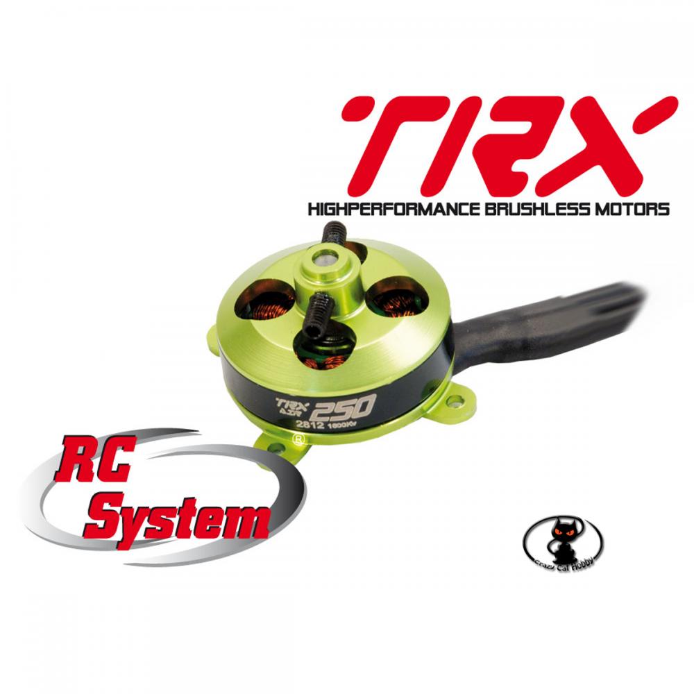 Motore brushless RCS TRX classe 250,  2812 1600kv Motore Brushless 97 watt- articolo RCM0A0001