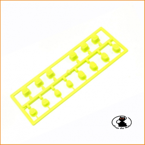 IF616KY Color Suspension Bush Set Kyosho MP10 yellow