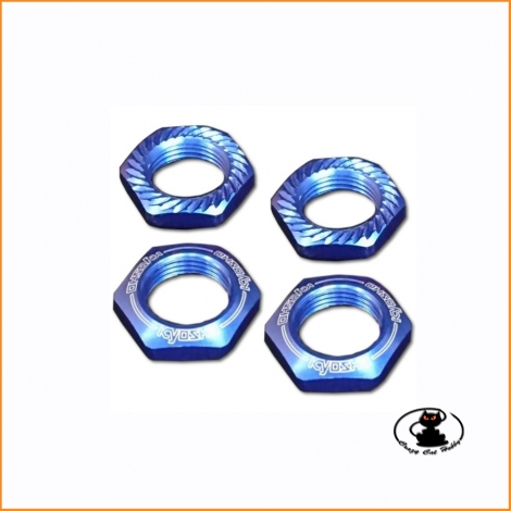 IFW472BL wheel nuts blue -...