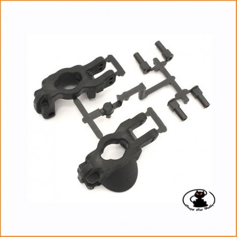 IFW468B front hub carrier set 17.5°  Kyosho MP9-MP10-GT3