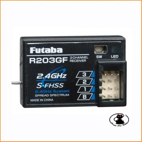 RX Ricevente Futaba R203GF 2.4GHz FHSS 3 channel