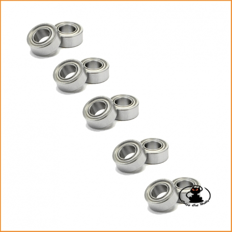 Ball bearing  5x11x4 mm ZZ - 10 pieces