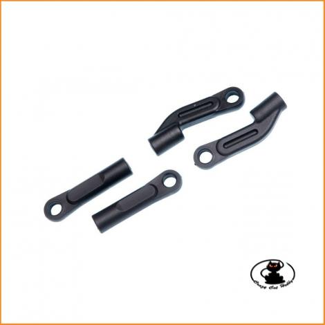 Long rear upper plastic arm links Mugen MBX - E0811-B