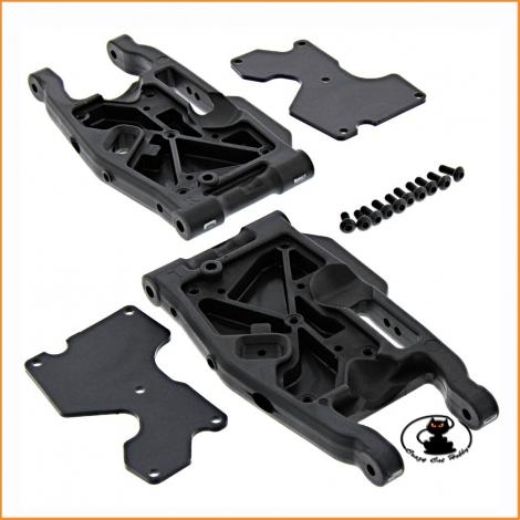 Rear lower suspension arms set  Mugen MBX8 - E2145