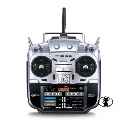1018b-FUTABA T18SZ con ricevente R7008SB (2,4Ghz) MODO 2