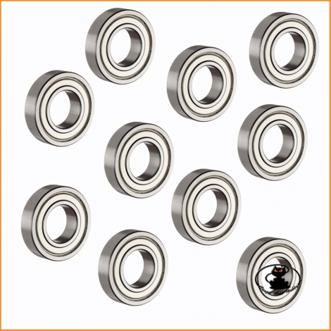 Ball bearing  8x16x5 mm ZZ - 10 pieces - 60695