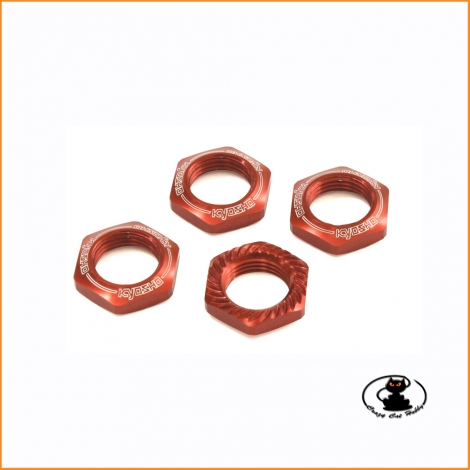 IFW472R wheel nuts red -...
