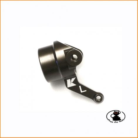 F488-L Fusello ( barilotto ) sterzo in alluminio sinistro Kyosho MP10 - MP9 TKI4 - MP9e