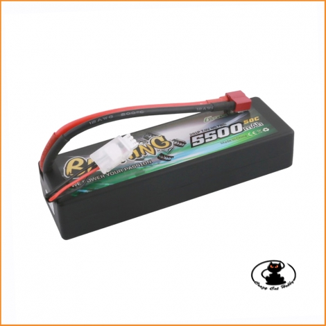 Lipo Battery Hard Case Bashing Gens Ace 2S 5500 mah 50C